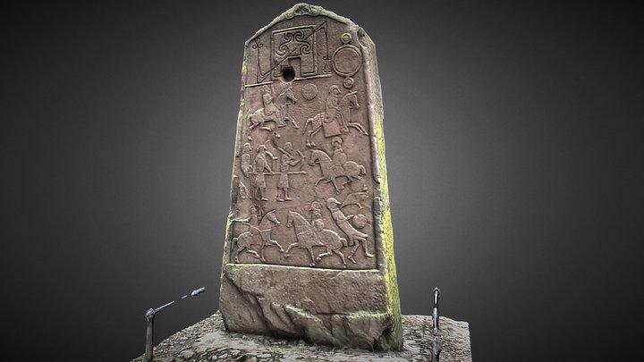 Aberlemno Pictish Symbol Stone 8thC 3D Model