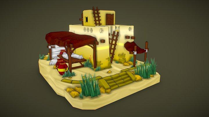 Ancient Egyptian Morgue | Shawn Kevin Perlado 3D Model