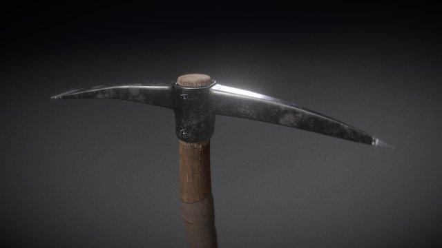 Survival Pickaxe 3D Model