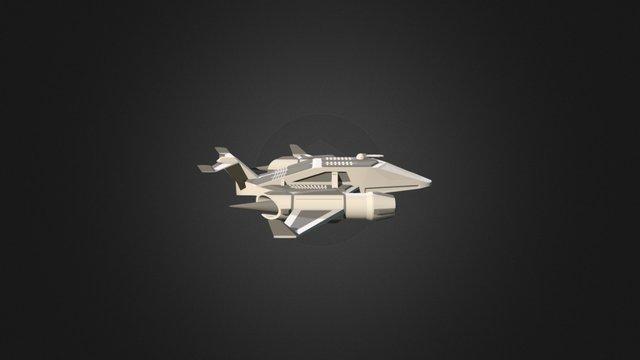 Spaceshippy 3D Model