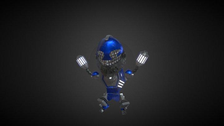 Robot (Baby Metal Dodgeball) 3D Model