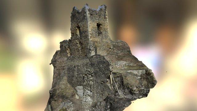 Rýzmburk castle - Donjon 3D Model