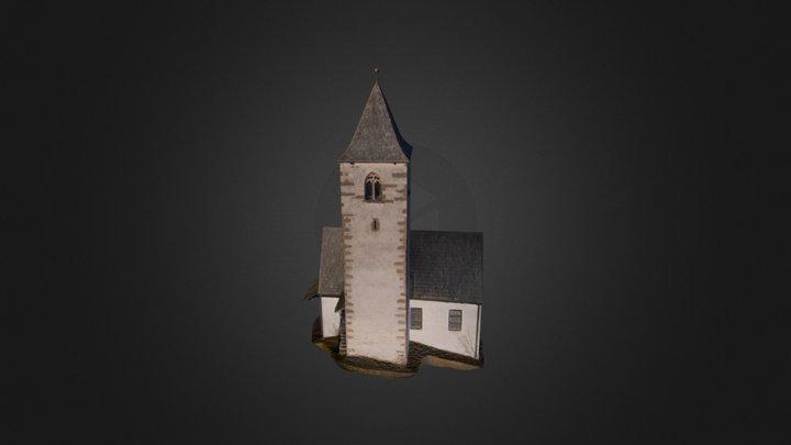 3D-Modell einer Kirche- Modello 3D di una chiesa 3D Model