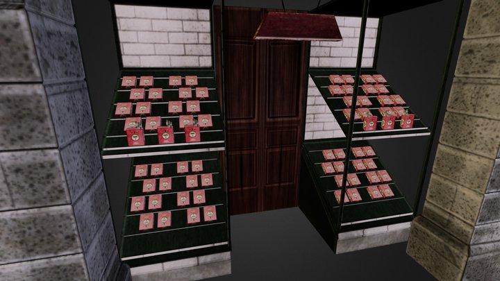 A_store.obj 3D Model