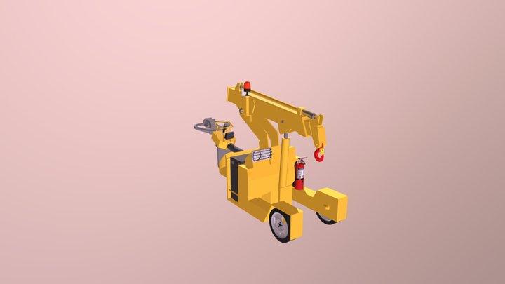 VALLA 20E  Arm 3D Model