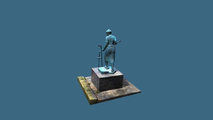 DeBrugAfdraaister_Annerveenschekanaal 3D Model