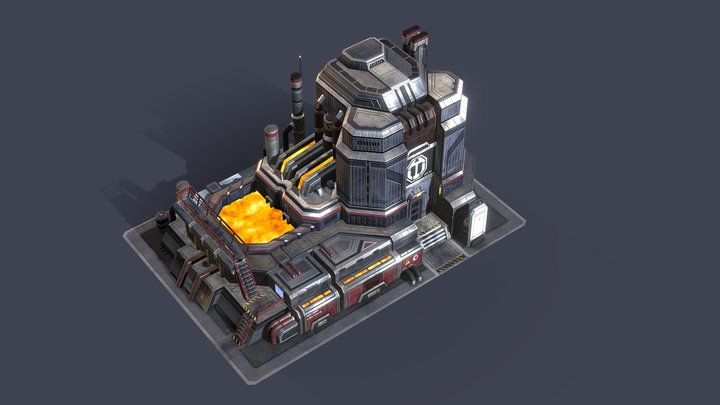 ANNO 2070 Steelworks (Fan-Art) 3D Model