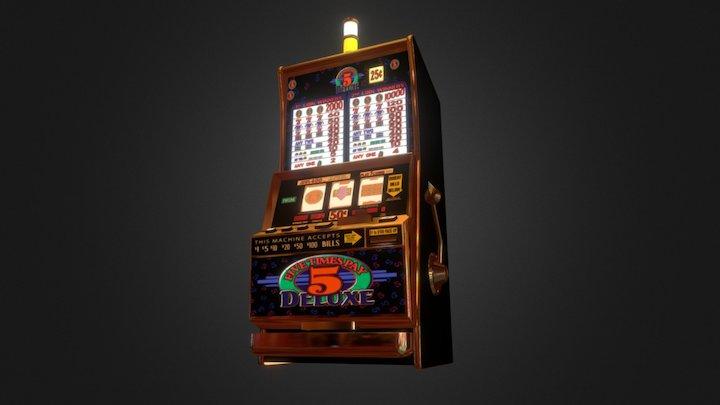 Slot Machine IGT2000E 3D Model