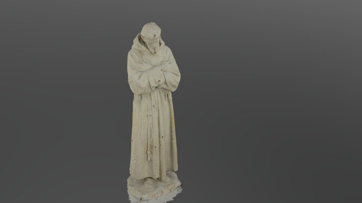 San Francesco _bozzetto 3D Model