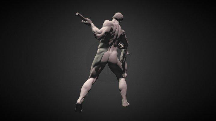 Warrior #03 3D Model