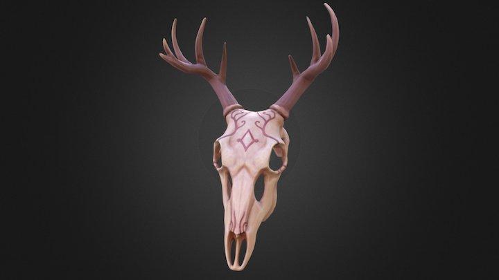 Deer Skull Mask 3D Model