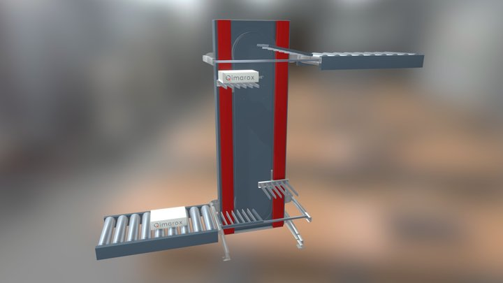 Qimarox - ProRunner Mk5 Vertical Conveyor 3D Model