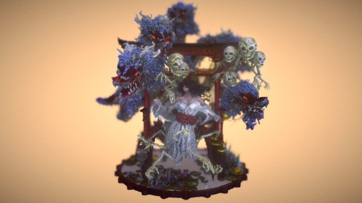 Yokai Synthesis - 8 Steps to Rebirth 3D Model