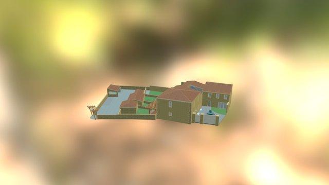 Hameau de Sinsans - alternative 3D Model