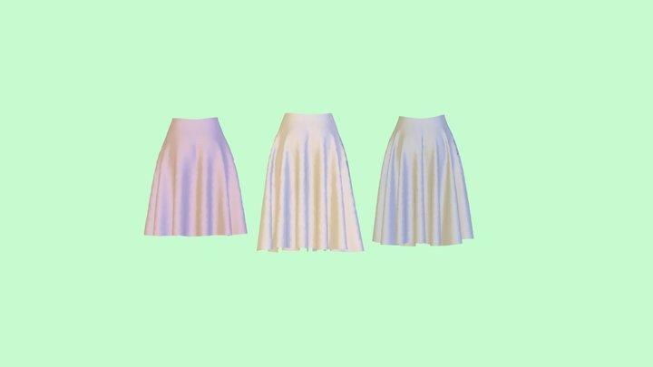 Circular skirt 3D Model