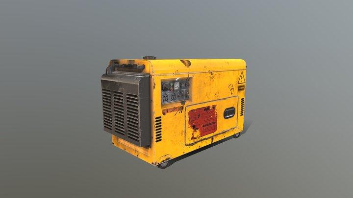 "Game asset ""Generator"" 3D Model"