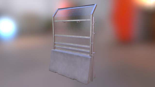 Fence Protection 3D Model