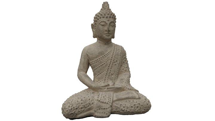 Lotus Buddha 3D Model