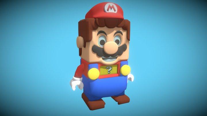 Mario Lego 3D Model