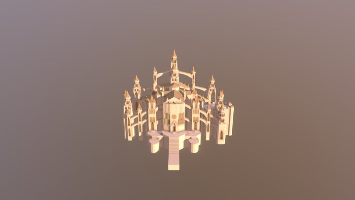 Cathedral of Sunlight 3D Model