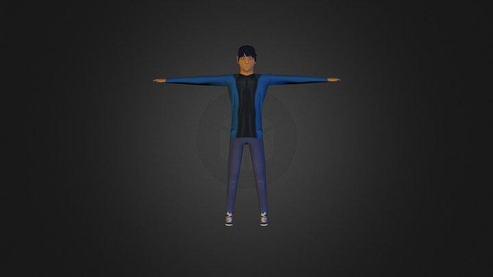 L P Character 3D Model
