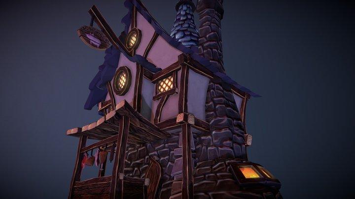 Butcher's House 3D Model