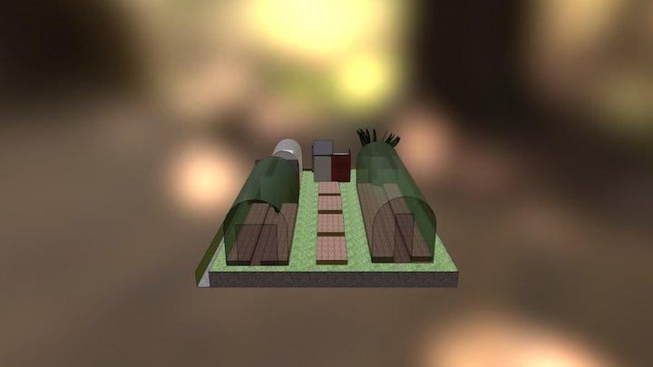 Allotment 3D Model