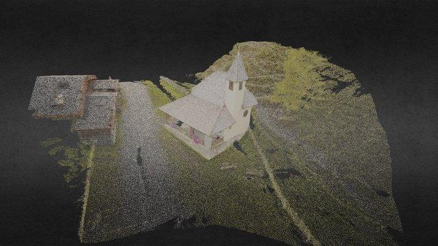 Chapel in Stubai Alps / Tyrol 3D Model