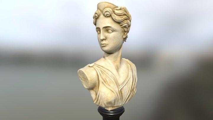 Artemis Bust 3D Model