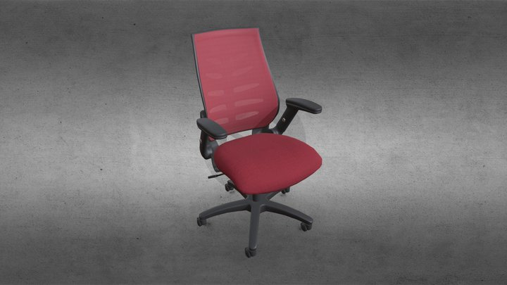 530 Chair - Retopolgy - WebGL 3D Model