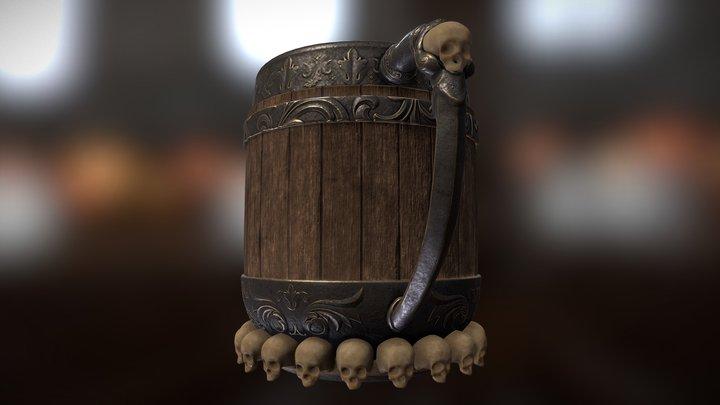 Medieval Tankard 3D Model