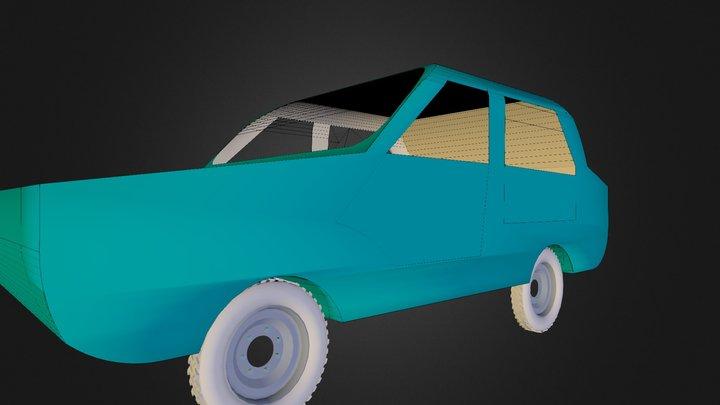 Coche Andrea 3D Model