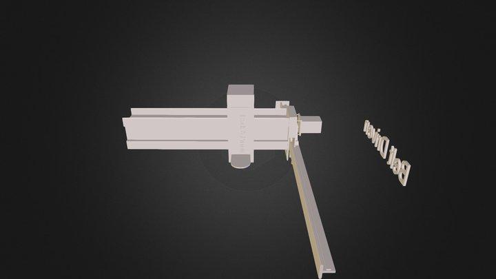 CNC outline 3D Model