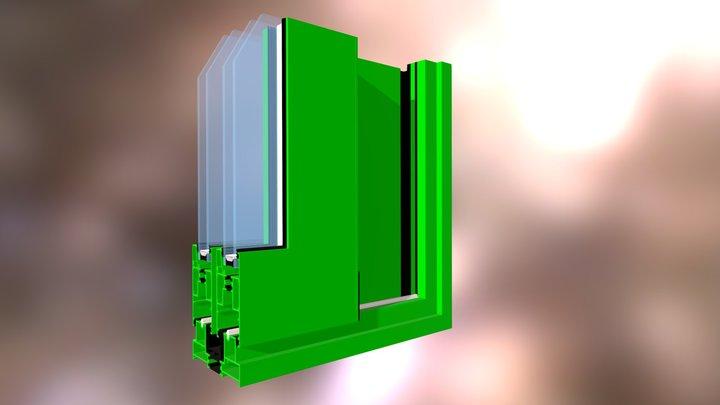 Esquina Q120 3D Model