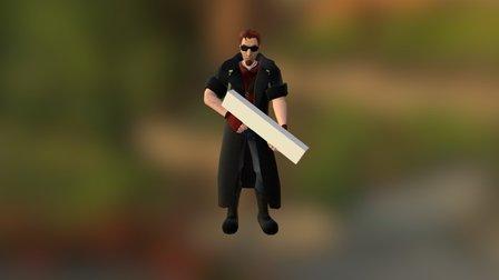Toxikk - Postal Dude Preview 3D Model