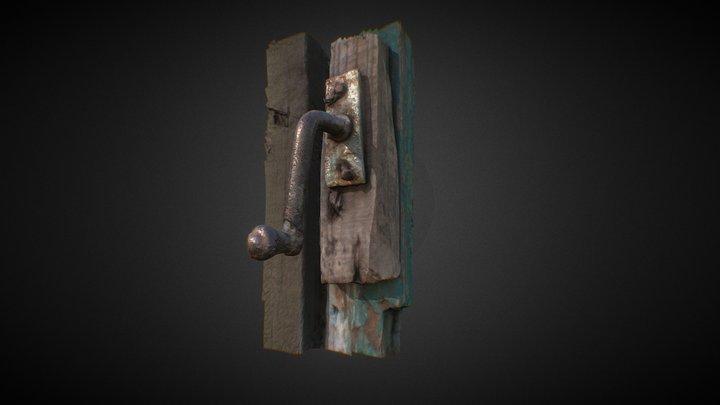 Old latch 3D Model