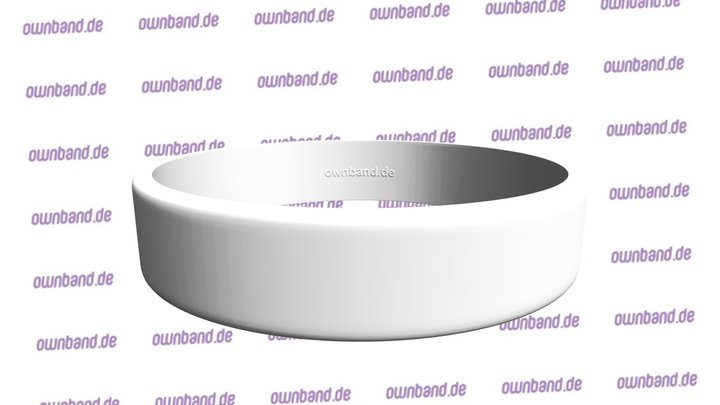 3D ownband Armband Template 3D Model