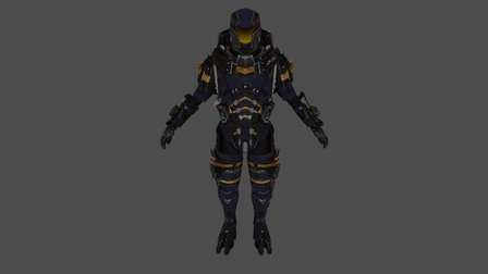 Livanus 3D Model