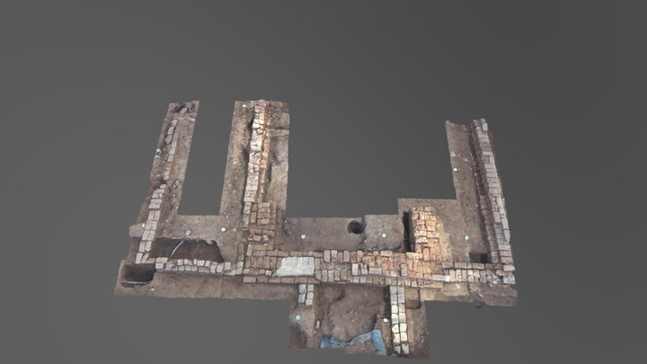 Montpelier South Kitchen (S Half) 3D Model