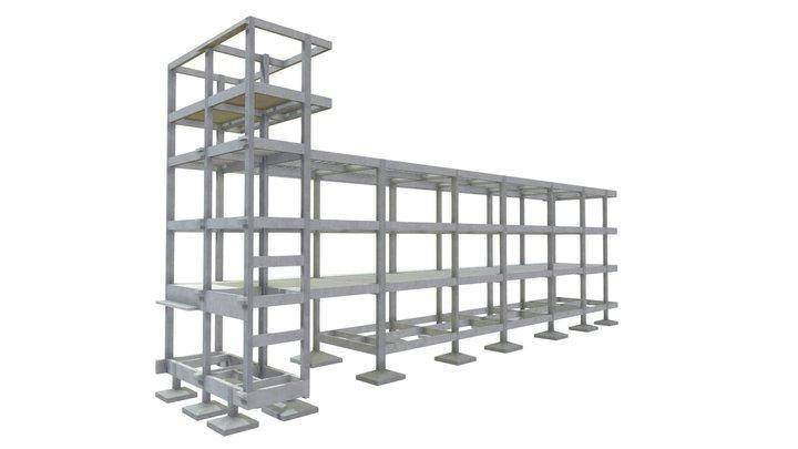 Prédio Comercial 20 3D Model