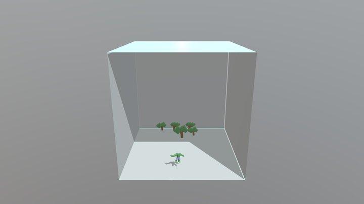 Hulk Jump 3D Model