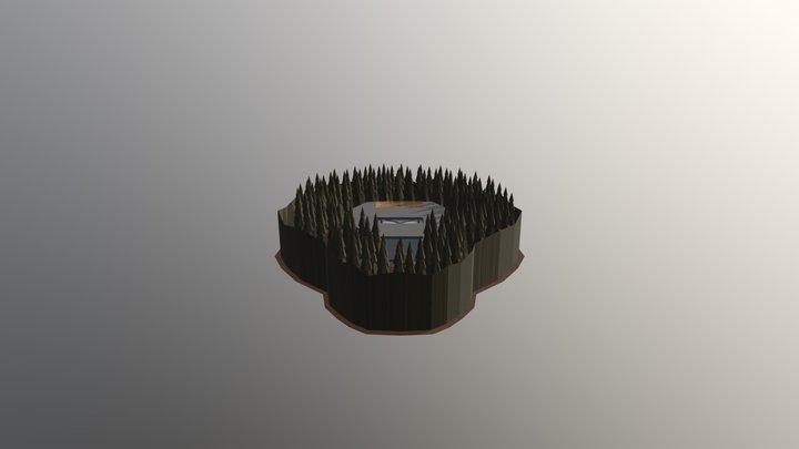 Oculus Home Template 001 3D Model