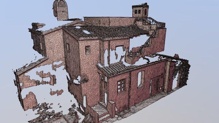 2115 Garden House 3D Model