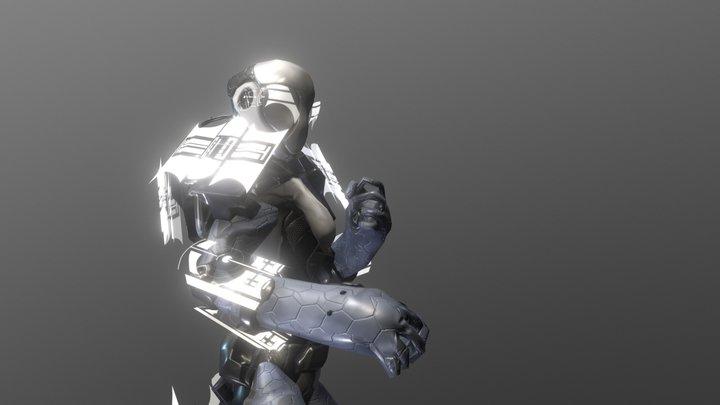 ExoSuit 3D Model