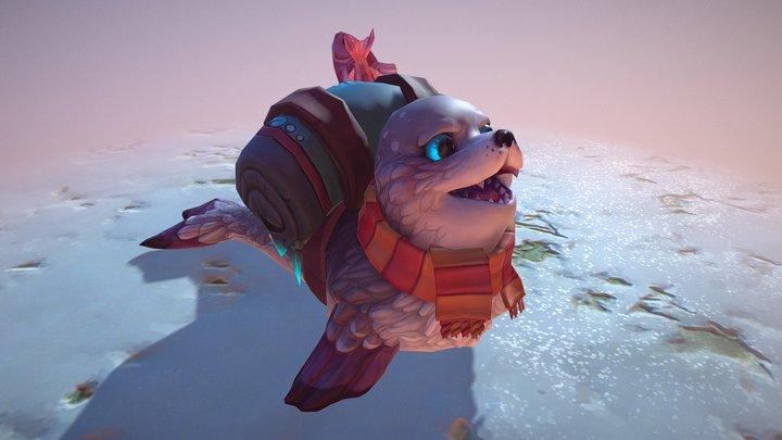 Serac the Seal (2018) 3D Model