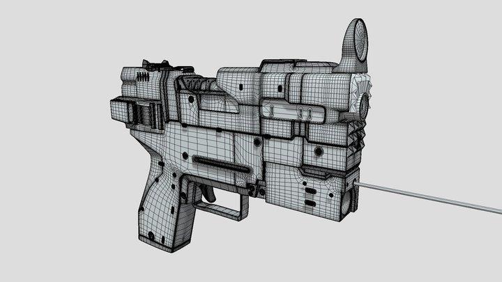 Milestone Week 2 (High-Res) 3D Model