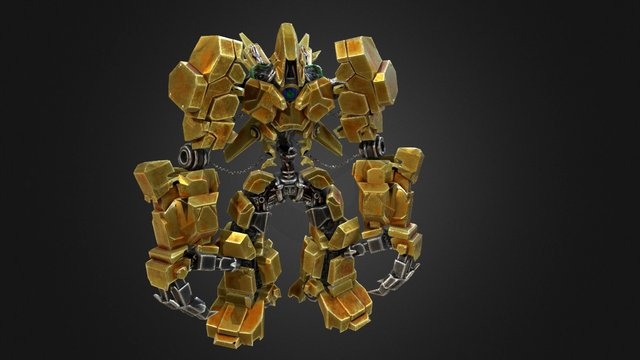 Service robot 3D Model