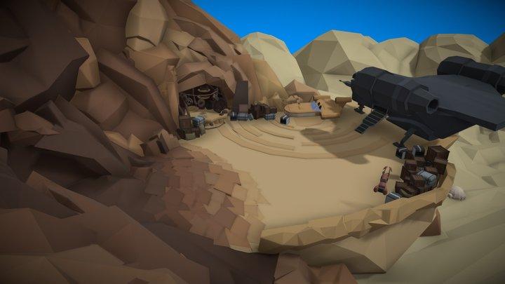 Star Wars - Watto's Shop - Tatooine 3D Model