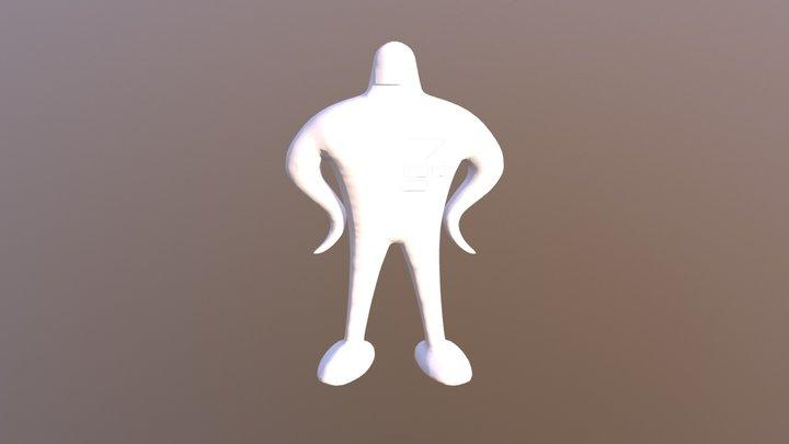 Starman (Earthbound) 3D Model