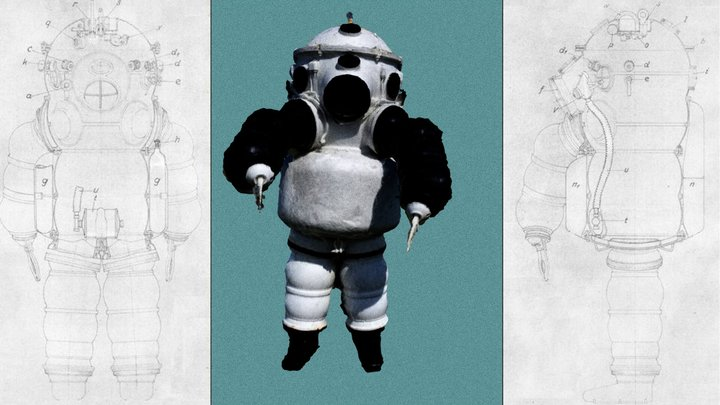 Photogrammetry of an Atmospheric Diving Suit. 3D Model